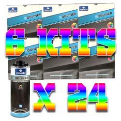 Pack 6 kits de Robliner Teintable