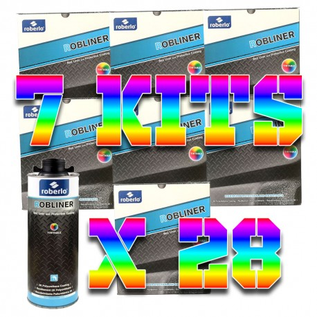 Pack 7 kits de Robliner Teintable