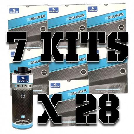 Pack 7 kits de Robliner Noir