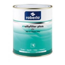 Apprêt acrylique Multyfiller Plus Z1 gris clair en 4L